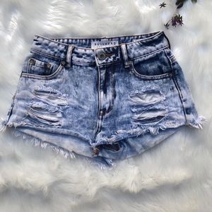 Bullhead denim co high rise short pacsun 0 jean
